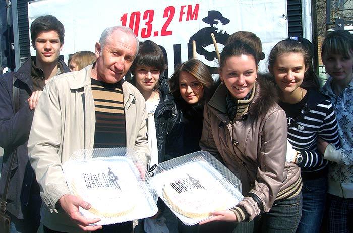 Хорошее радио вышло на Хороший субботник (54 ФОТО)