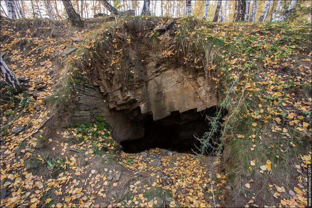 Штольни жилы №37 Вишневогорск