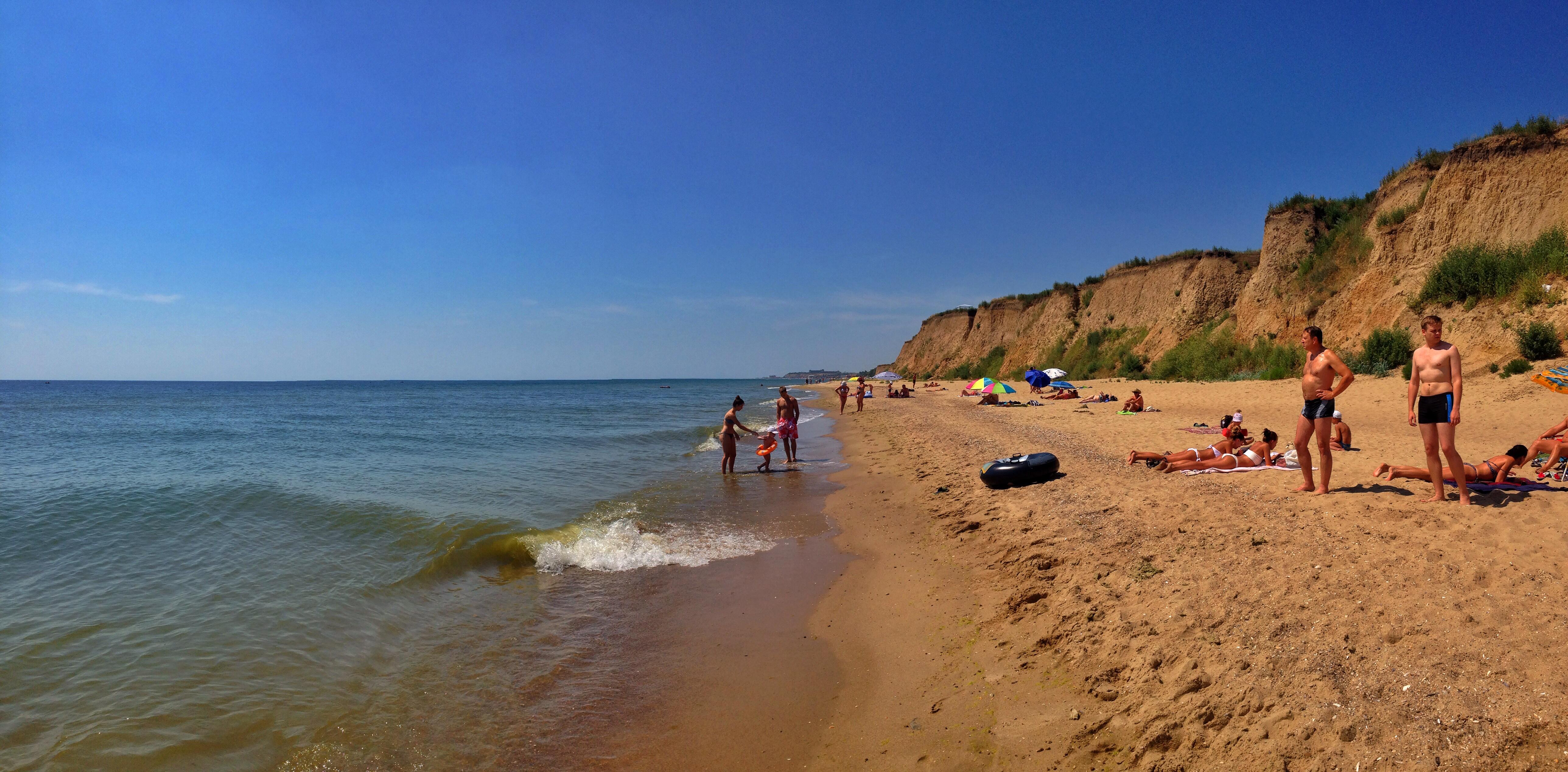Что такое дикий пляж