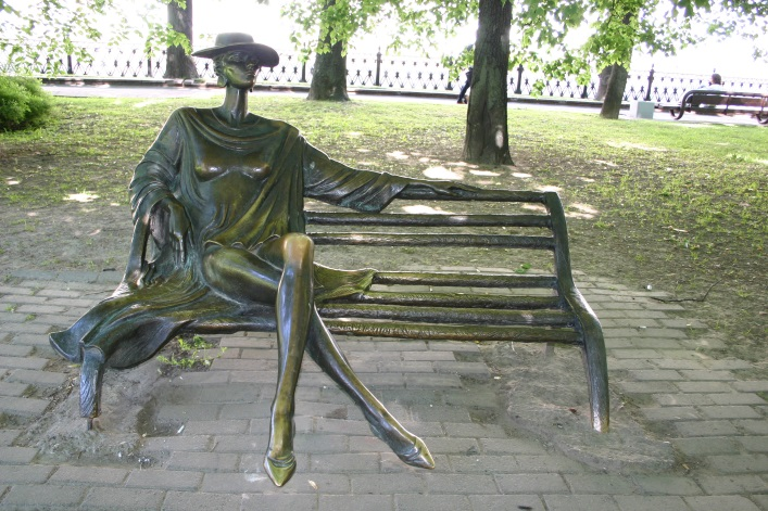 Незнакомка Жбанова