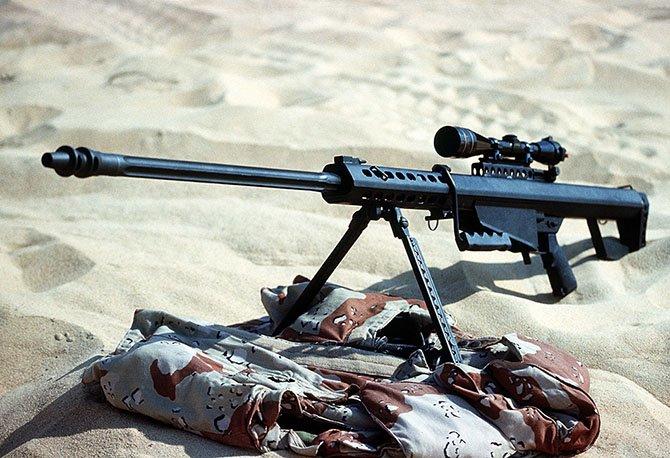 Самые известные снайперские винтовки