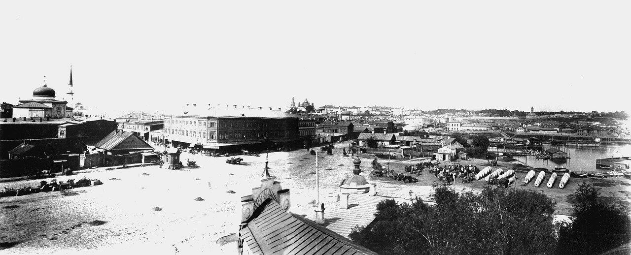 Улица Евангелистовская и озеро Кабан