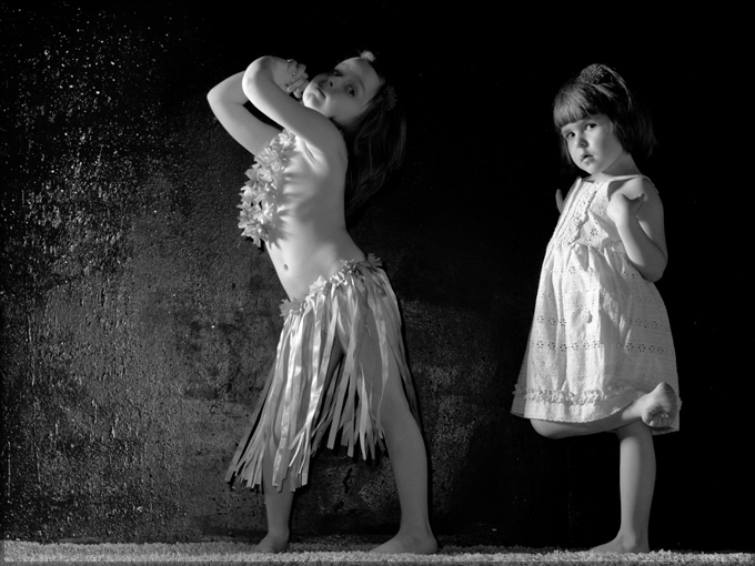 фотографии  детей в студии фотографа Кузьмина