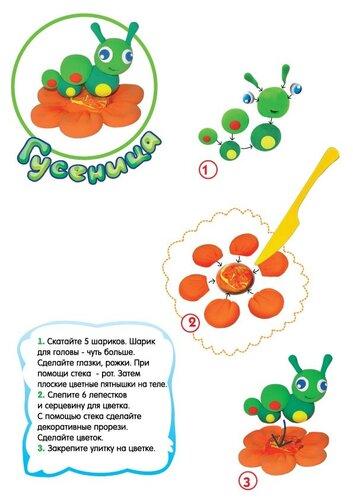 Лепка из пластилина для детей - мастер классы.