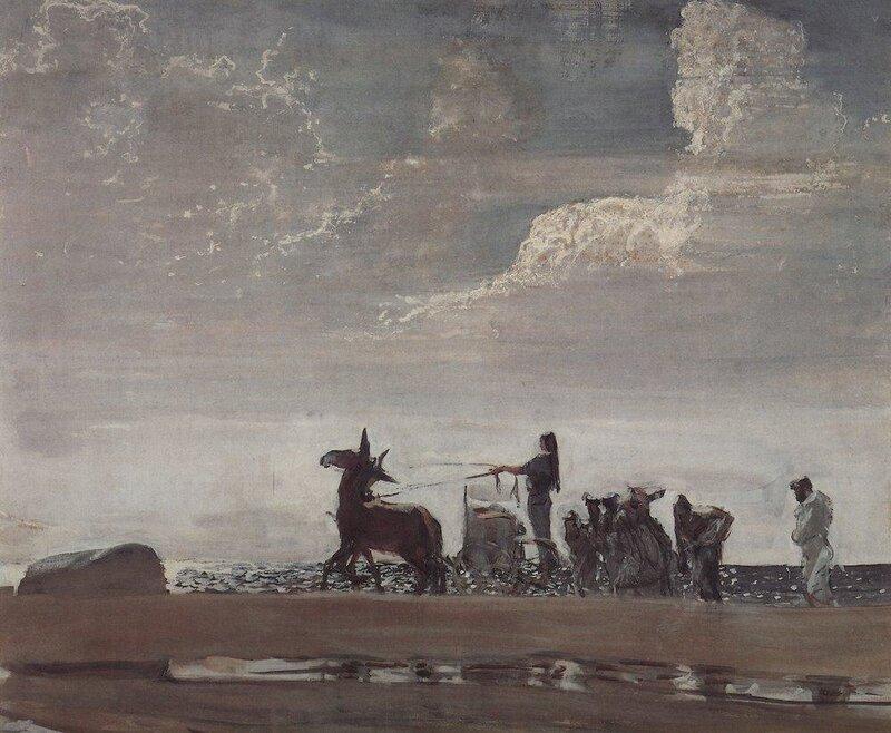 Валентин Серов, Одиссей и Навсикая