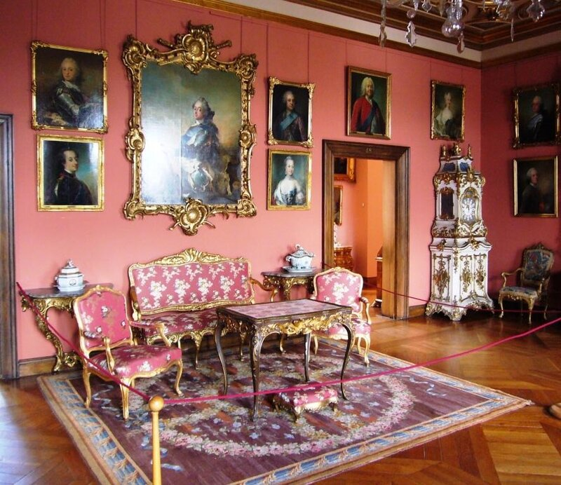 Интерьеры замка Frederiksborg.