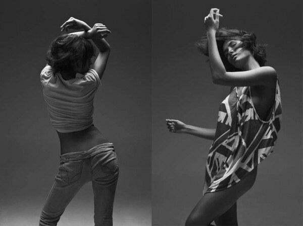model posing, fashion