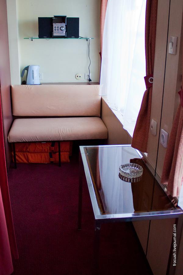 Каюта класса «Полулюкс» №330 на шлюпочной палубе теплохода «Александр Пушкин»