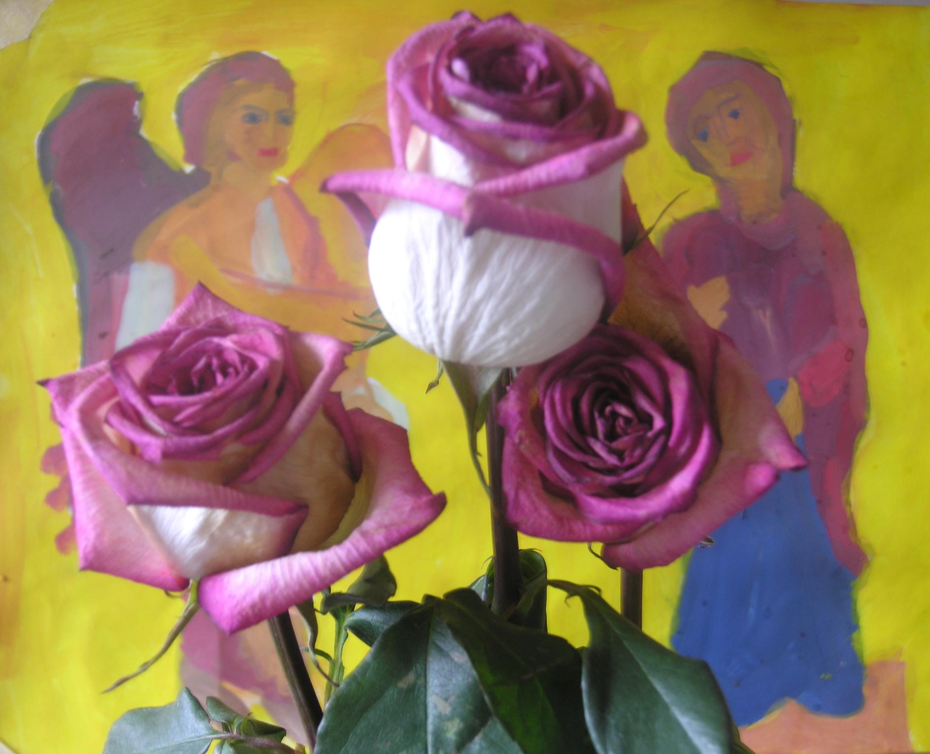 Розы и Благовещение