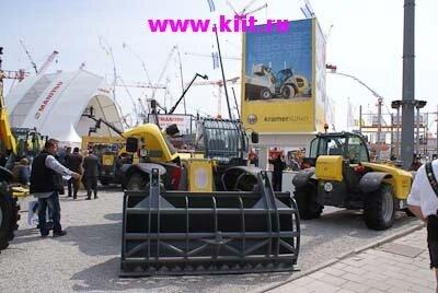 Международная торговая ярмарка строительных машин, оборудования и механизмов BAUMA 2010