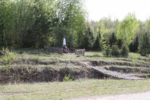 Памятник погибшим летчикам-курсантам