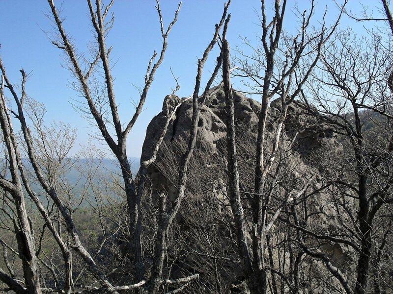 Скалы Индюка