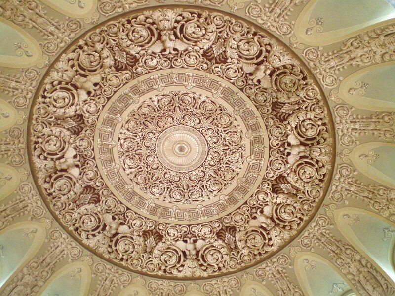 Плафон купола