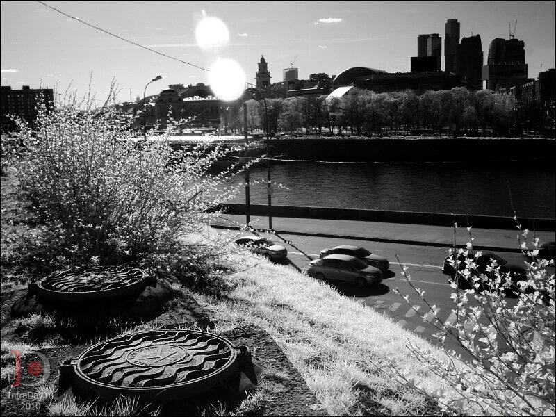 ИК-весна в городе