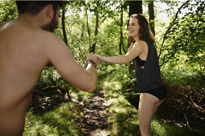 Секс в лесу и на природе фото 186-151