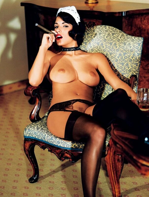 Janine Habeck in Playboy