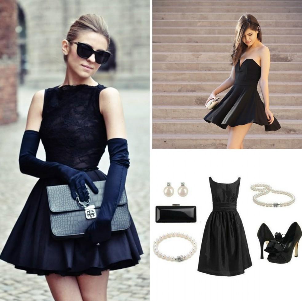 5. Маленькое черное платье «В маленьком черном платье вы всегда будете соответствовать любой ситуаци