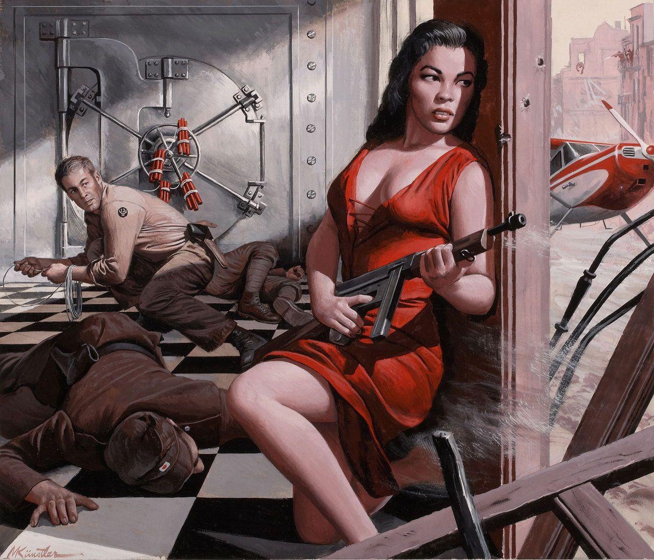 Иллюстрации Mort Kunstler