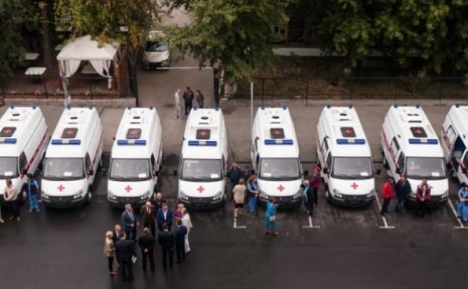 ВСамарской области обновляется парк авто скорой помощи
