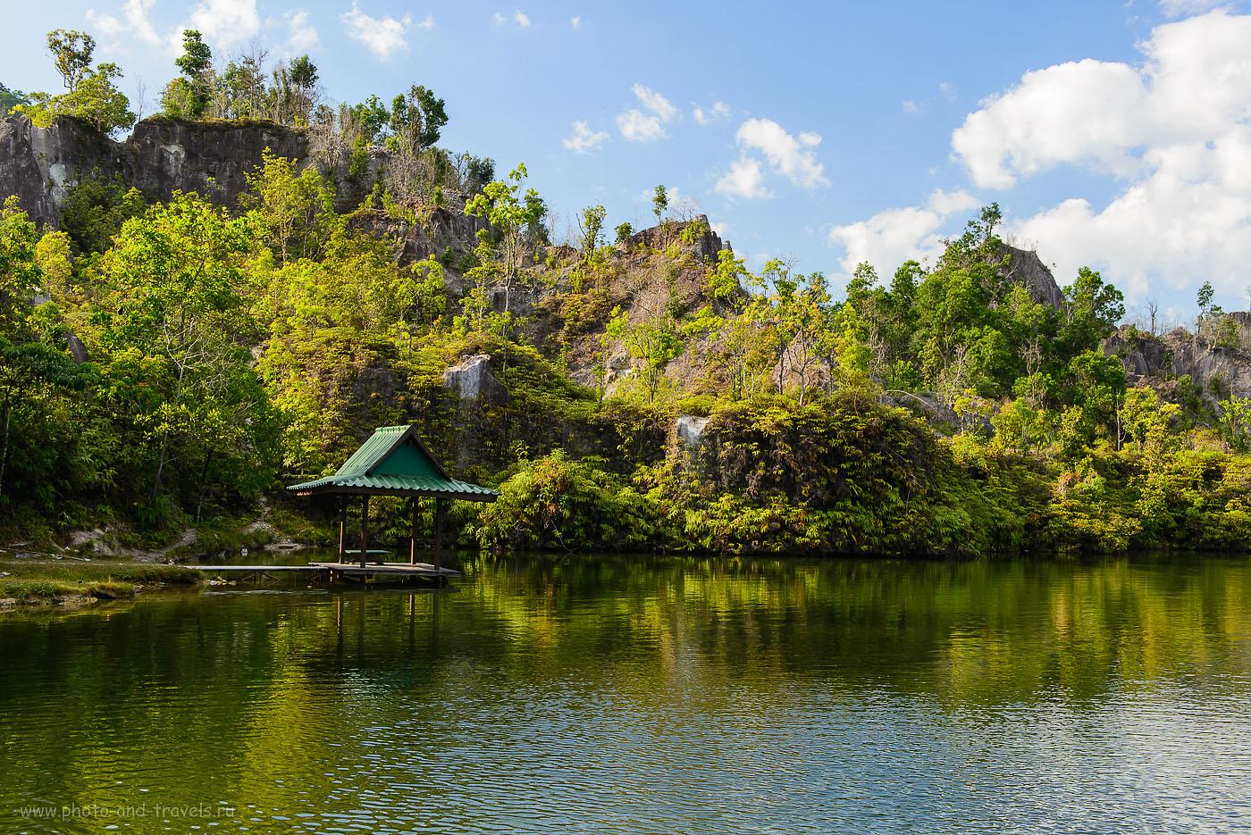Фотография 10. Затопленный оловянный карьер Canyon Ranong в Таиланде. Отчет о самостоятельной поездке на арендованной машине (320, 48, 8.0, 1/125)