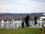 Кладбище при Свято-Троицком православном монастыре, Джорданвилль, США
