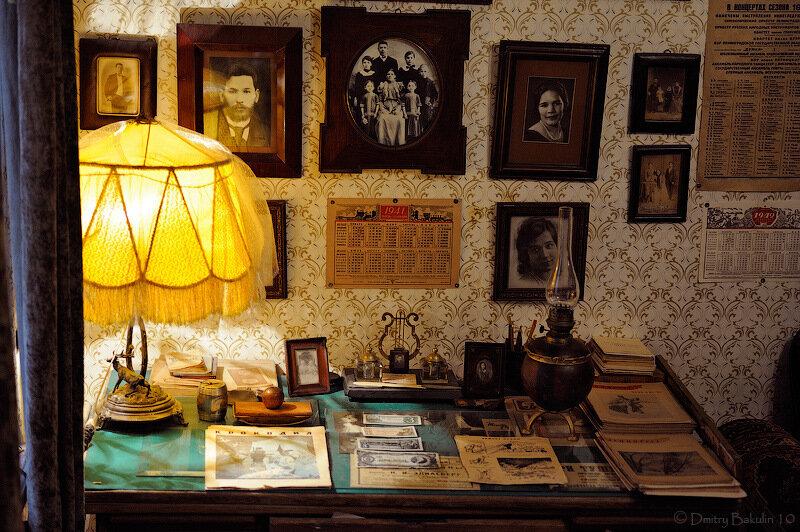 Блокадная комната артистки