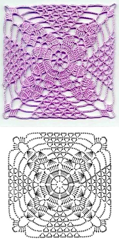 мне схемы вязания узоров и