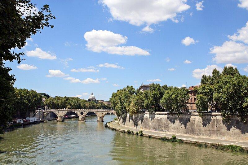 Вид на мост Систо