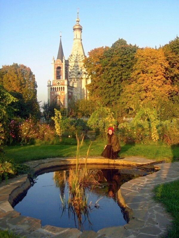 Осень,с.Остров, подворье,райский садик