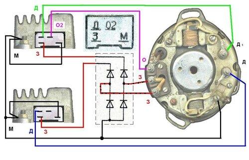 «Схема диодной развязки для