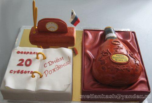 Торт для начальницы фото