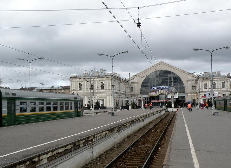 Объему пригородных поездов балтийского вокзаласпб-балт аэропорт схема.  После финляндского.