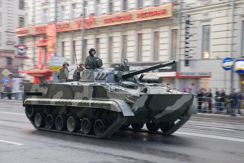 БМП-3 (Боевая Mашина Пехоты-3) — боевая бронированная гусеничная машина, предназначенная для транспортировки личного состава к переднему краю, повышения его мобильности, вооружённости и защищённости на поле боя в условиях применения ядерного оружия и совместных действий с танками в бою.