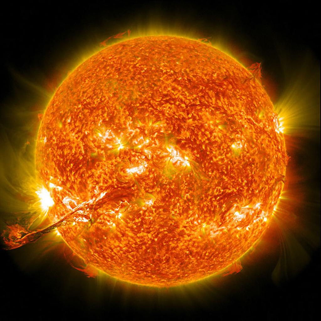 Солнце, 3 сентября, 2012 года