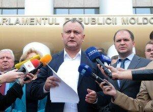 Партия социалистов Молдовы не намерена отступать от требований