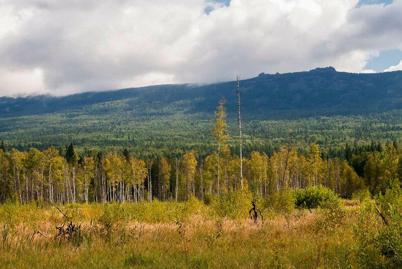 Хребет Бакты, Юрюзань-река и дикая тайга Урала