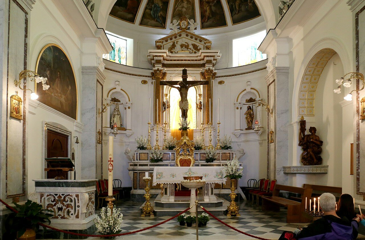 Sorrento. Church Of Santa Anna (Parrocchia Di Sant'anna)