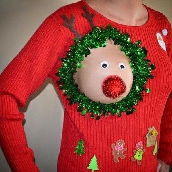 0 17ca42 b17140bd XL - Модная рождественская забава американок #reindeerboob