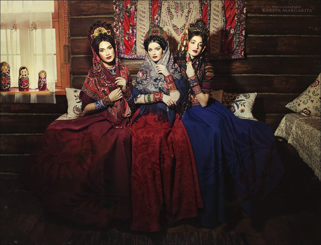 Russian fashion by Margarita Kareva