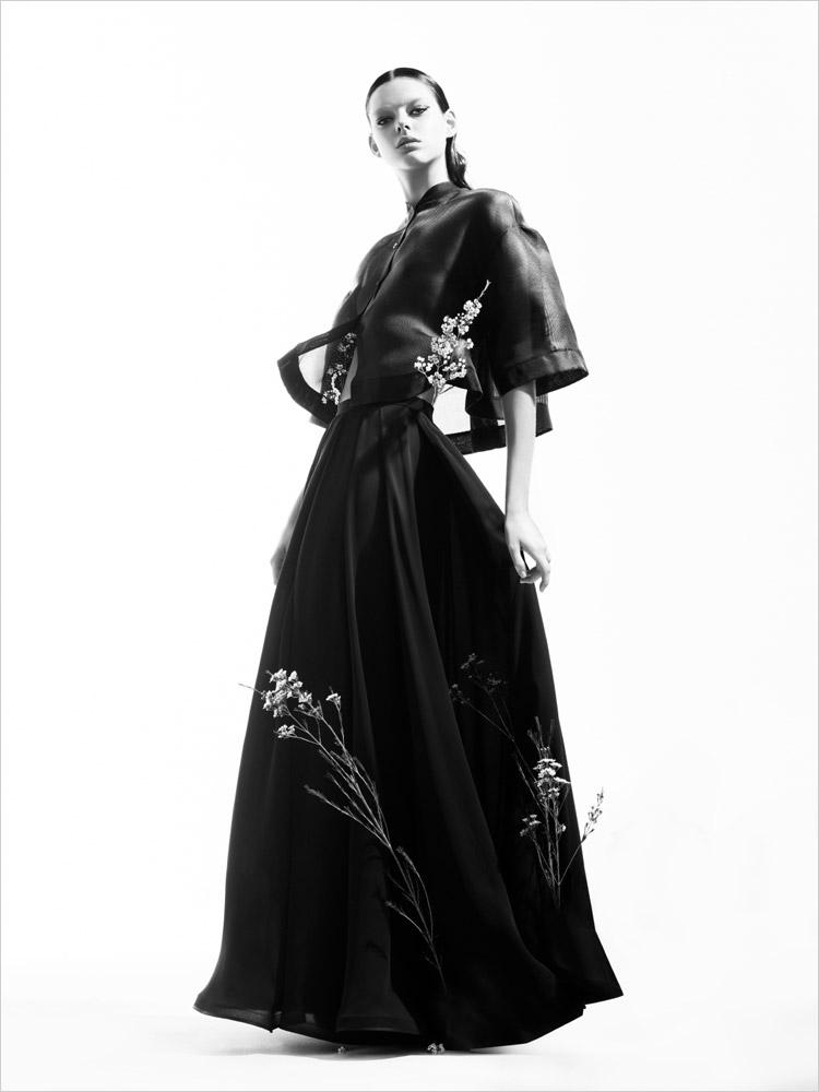 Lea в рекламной фотосессии для Lena Lumelsky