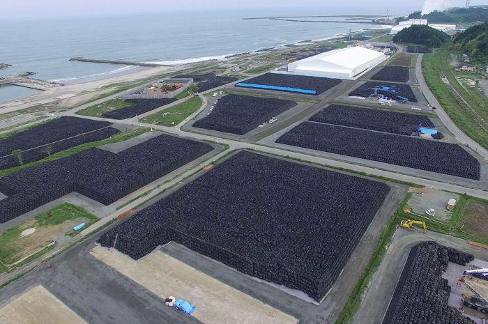 Фукусима спустя 4,5 года после аварии