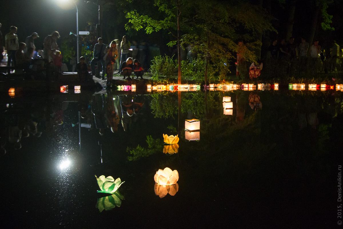 Фестиваль водных фонариков Саратов 12