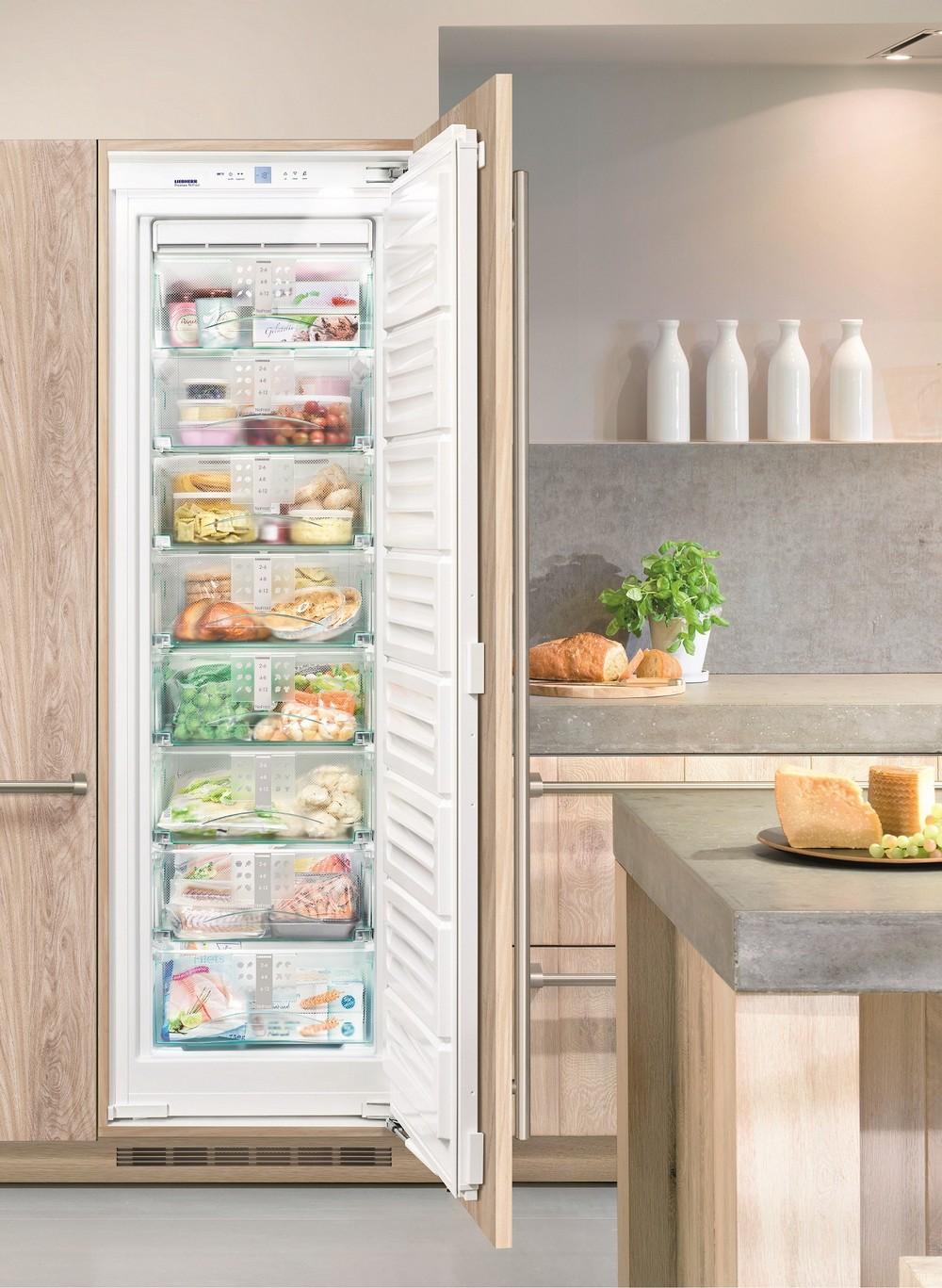 Большие морозильные камеры - встраиваемые морозильные шкафы-лари - Краснодар