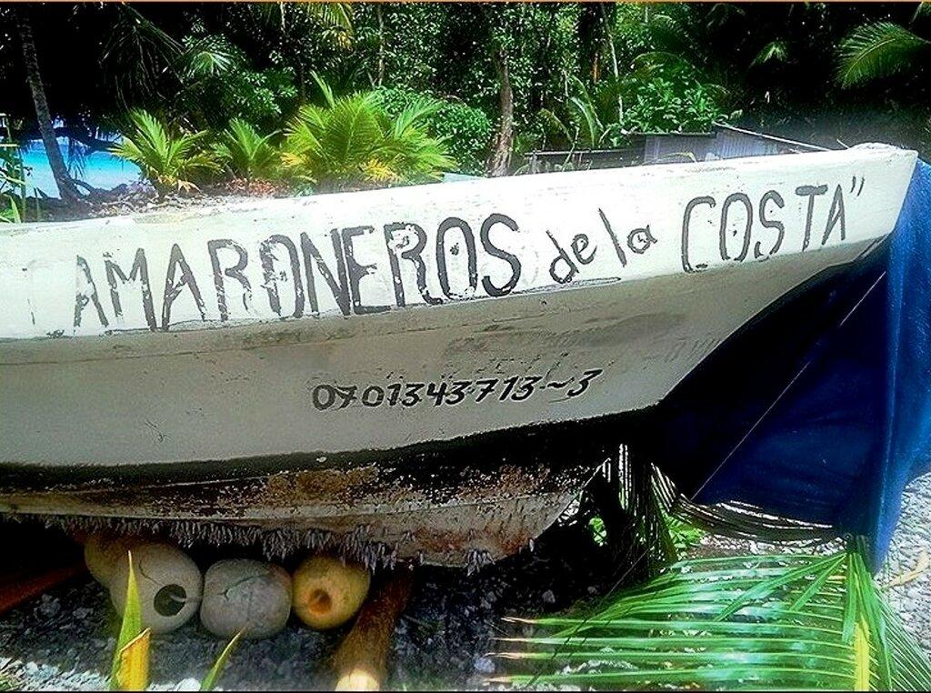 Днище 7-метровой лодки, на которой Хосе провел 14,5 месяца в океане, обросло полипами. Фото Гифф Джонсон Giff Johnson.jpg
