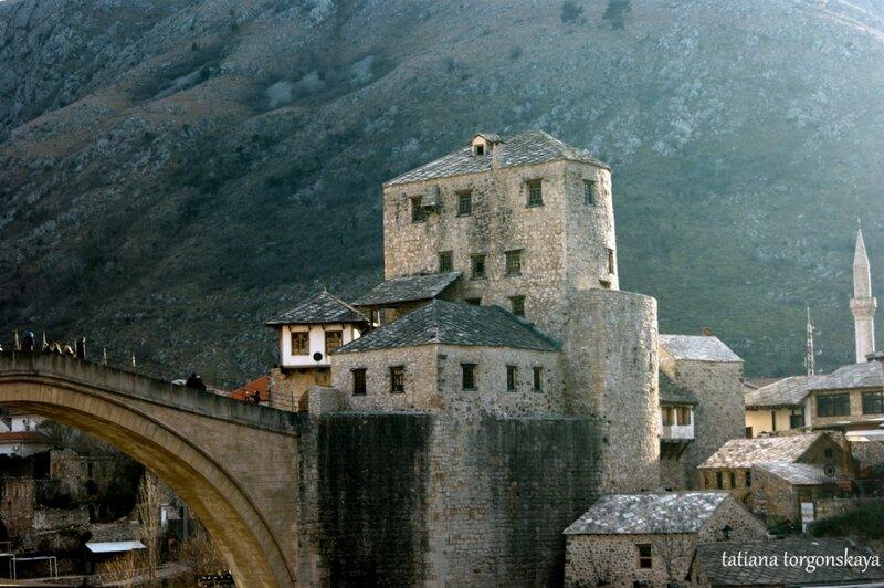 Вид на башню Старого моста