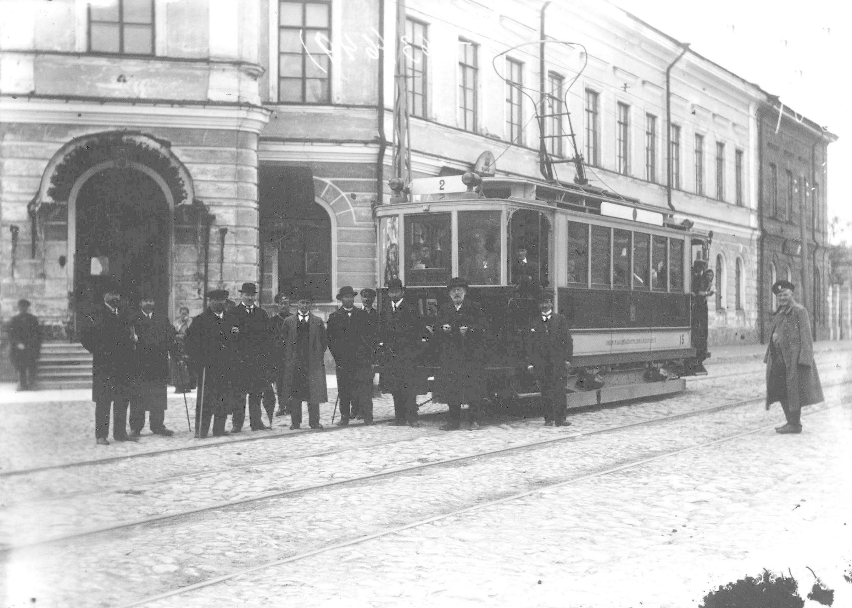 Трамвай. 1916