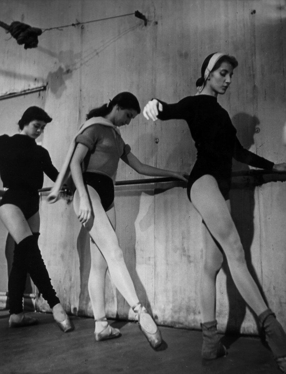 1953. Школа танцев парижской Оперы