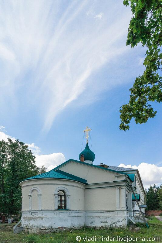 Храм Иерусалимской иконы Божией Матери. Крестовоздвиженский монастырь.