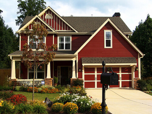 красивые дома дачный дизайн