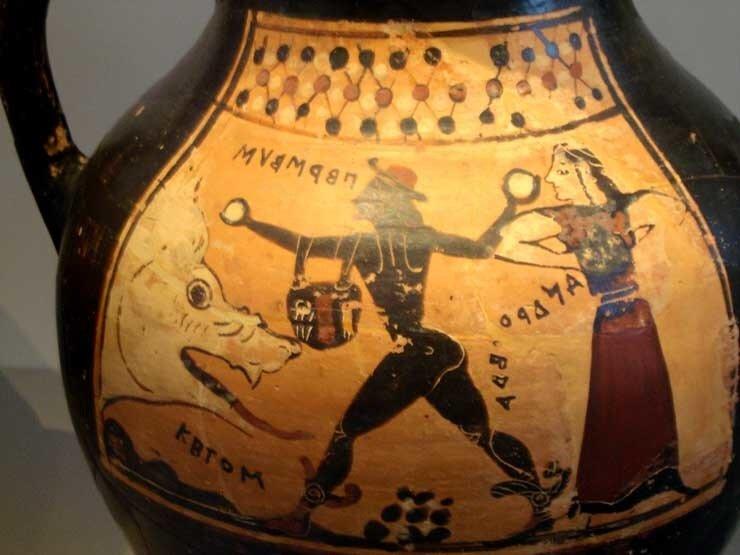 Perseus, Andromeda  and Ketos, Altes Museum, Berlin